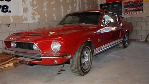 mustang shelby for sale 1968 shelby mustang gt500kr for sale