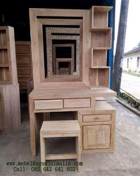 Meja Rias Minimalis Jepara meja rias minimalis jati jepara murah mebel kayu minimalis