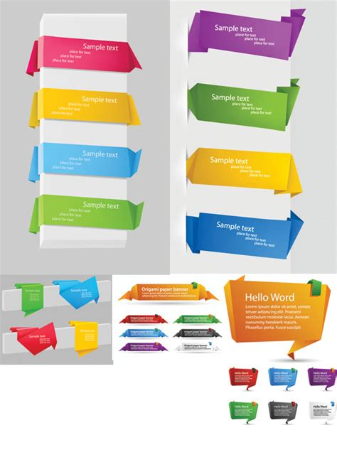 striking 3d html template 3d templates website delicate origami labels over millions vectors stock