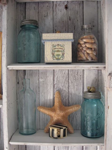 beach decorations for bathroom beach bathroom shabby cabinet southernhospitality