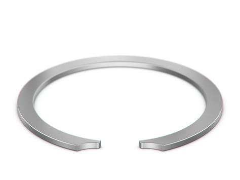 constant section retaining ring retaining rings smalley steel ring company