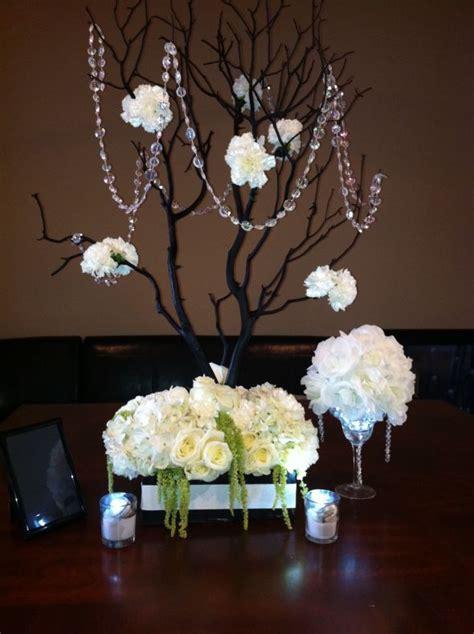 my diy manzanita centerpiece for under 30 weddingbee