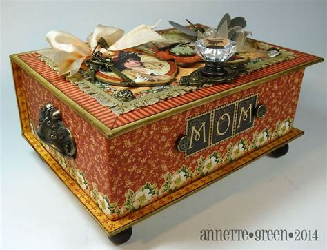 Decoupage Boxes Ideas - 198 best images about cigar boxes on