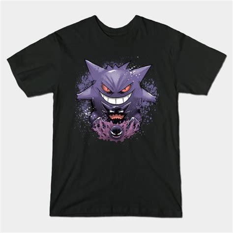 gengar evolution t shirt the shirt list
