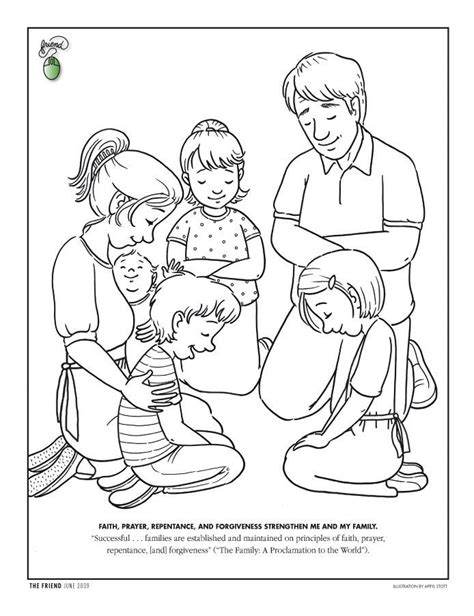 Coloring Pages For Lds Nursery | lds nursery coloring pages coloring home