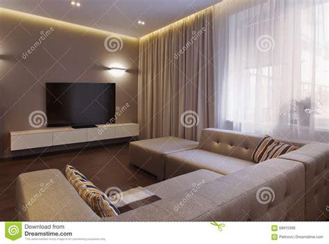 Loft Moderne Salon by Model De Salon Moderne Obasinc