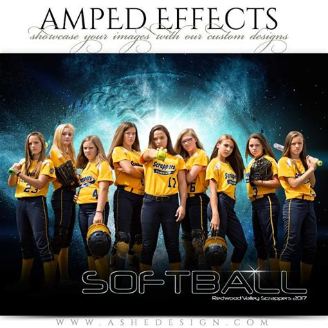 Amped Effects Platinum Burst Softball Ashedesign Ashe Photoshop Templates