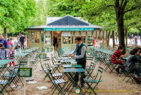 Lu Cafe cafe in the jardin du luxembourg