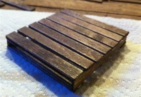 make coasters how to make a mini pallet coaster for your pallet coffee