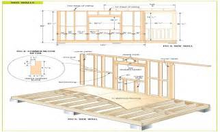shed floor plans free wood cabin plans free diy shed plans free cottage bunkie