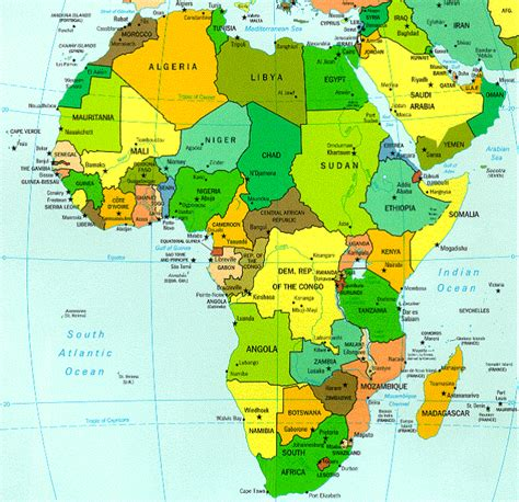 africa map oceans map of africa pictures map pictures