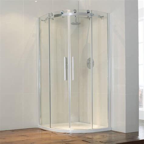 Aqua Glass Shower Door Frontline Aquaglass Door Offset Quadrant Shower Enclosure 1200 X 900mm