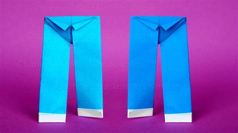How To Make Origami Trousers - origami origami trousers