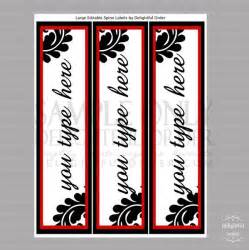 half inch binder spine template 2 inch spine label template pictures to pin on