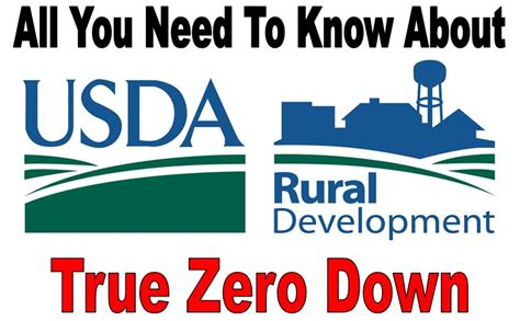 Usda Home Loans Zero Down Program