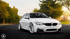 Bmw M3 Custom White Bmw M3 Looks On Brushed Clear Custom Wheels