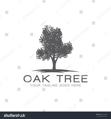 oak tree template oak tree concept logo icon vector stock vector 585155038