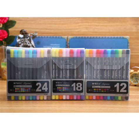 zf2 set layout in action aliexpress com buy m g soft brush fine twin art marker