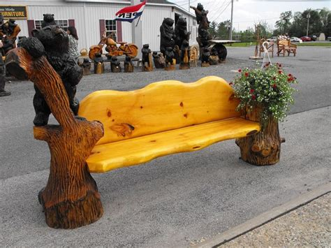 chainsaw bench carving chainsaw carved benches web design by chainsawsculptors