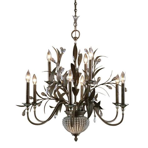 Global Direct Cristal De Lisbon 11 Light Bronze Chandelier Lighting Direct Chandeliers