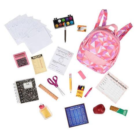 Set Og our generation 174 school accessory set target