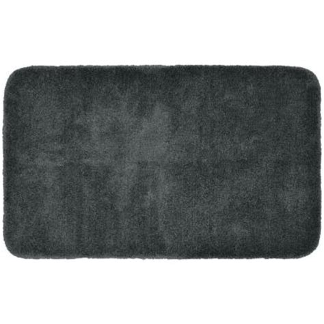 gray bathroom rugs garland rug finest luxury gray 30 in x 50 in washable bathroom accent rug pre 3050 15