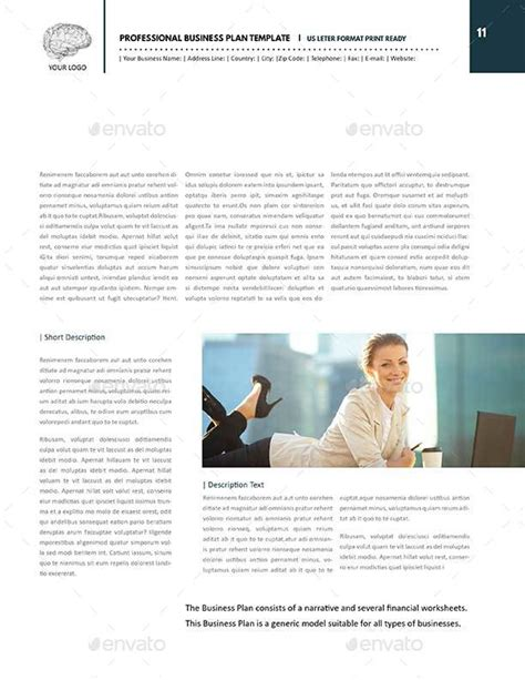 consulting business plan template professional template with