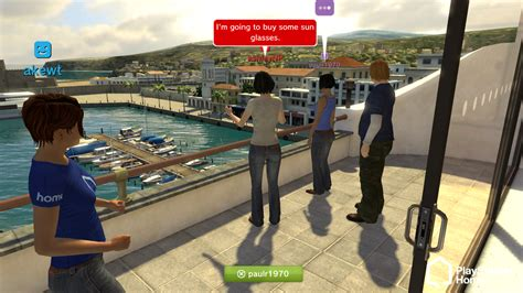 avatar chat rooms like playstation home worlds for