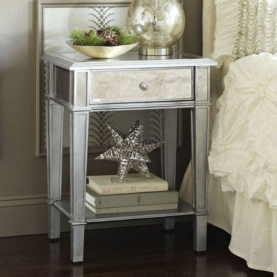 Small Silver Nightstand 10 Best Ideas About Silver Nightstand On