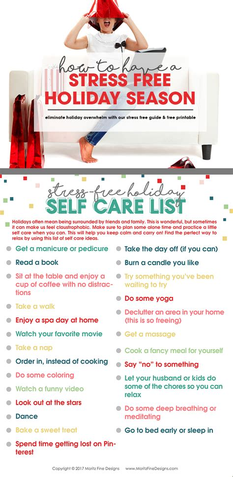 The Top 5 Things For A Stress Free by How To A Stress Free Season Free Self Care