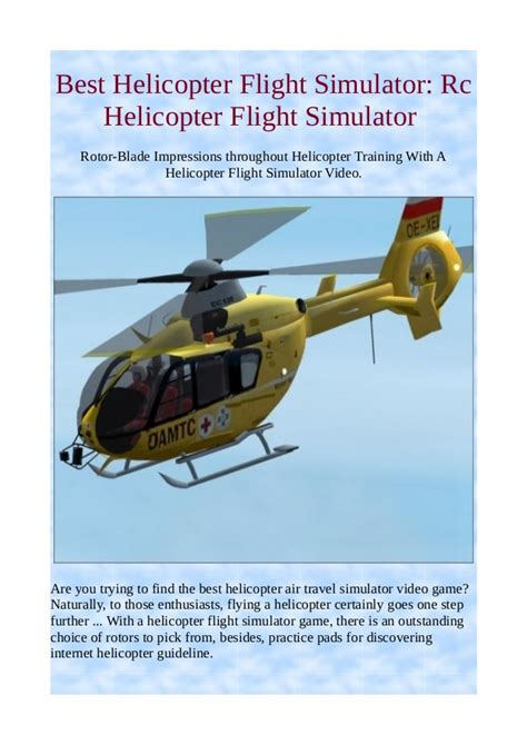best helicopter simulator best helicopter flight simulator rc helicopter flight