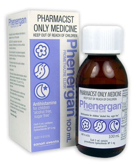 Buy Phenergan Elixir 100ml at Health Chemist Online Pharmacy