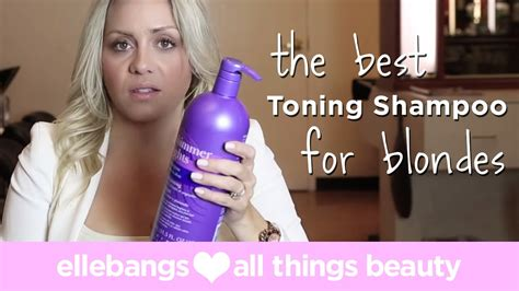 The Best Toning Shoo For Blondes Youtube | the best toning shoo for blondes youtube