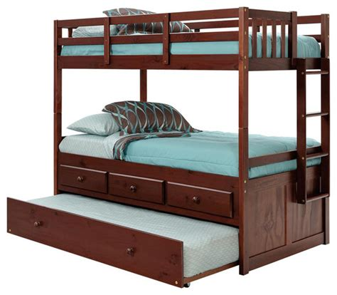 kids twin bunk beds chelsea home twin over twin bunk bed with trundle and