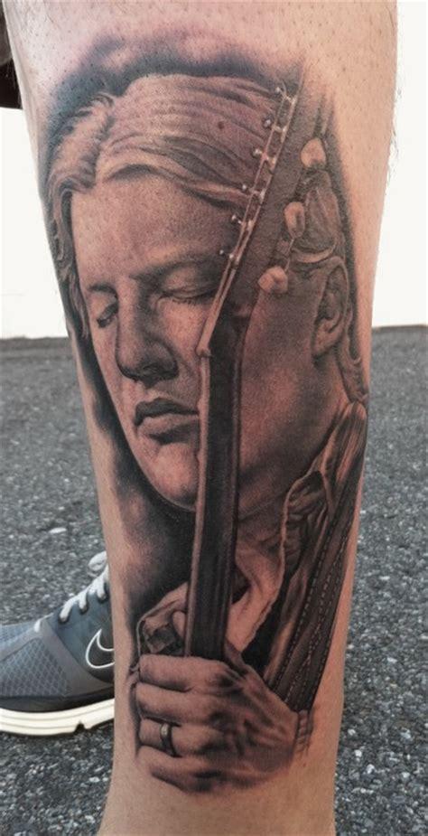 derek tattoo the map