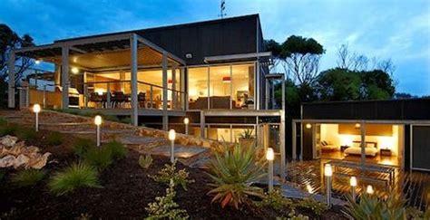 fachada de casa terreno inclinado planos de casas gratis