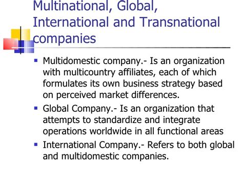 What Is International Mba by Global Business