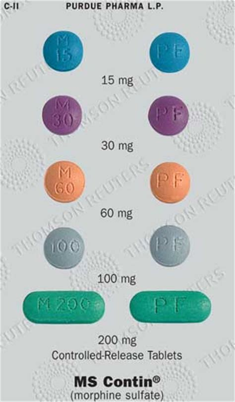 Detox Protocol From Ms Contin With Suboxone by Grey Pages Identification Guide