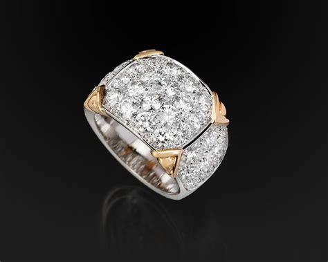 pave di brillanti virgilio gioielli anelli