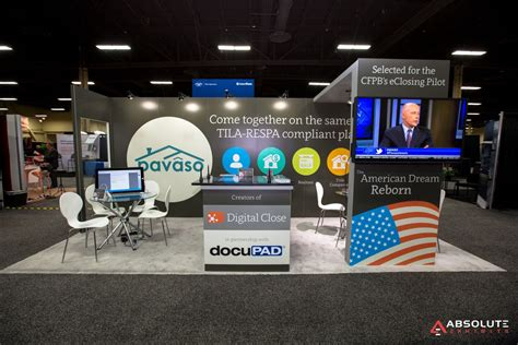 Mba Booth Mortgage Convention Denver by Hybrid Exhibit Rentals Trade Show Displays Trade Show