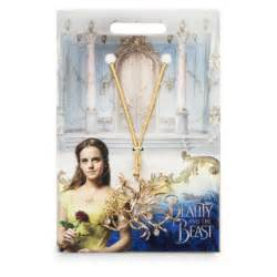 Beauty and the beast tree necklace