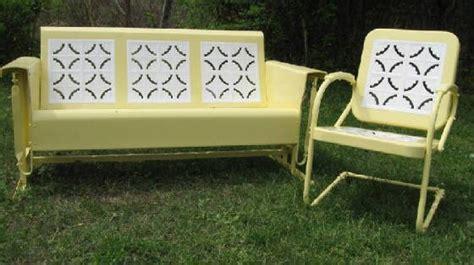 vintage metal glider bench best 25 porch glider ideas on pinterest woodworking