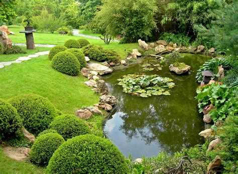 how to landscape a pond pool design ideas