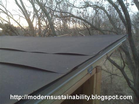 modern sustainabilityold fashioned methods tree house