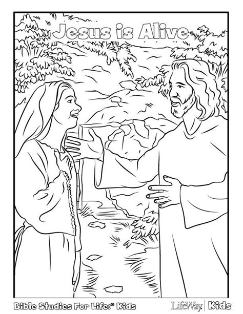 coloring page jesus is alive jesus is alive easter pinterest