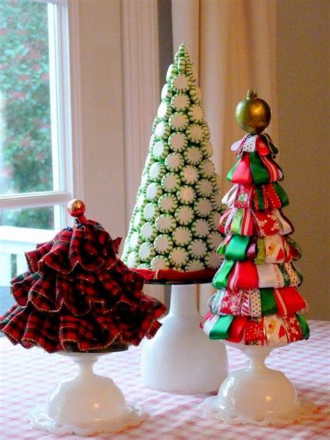 beautiful tabletop christmas trees decorating ideas designs family holidaynetguide