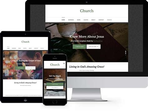 templates bootstrap church free church website templates gallery template design ideas