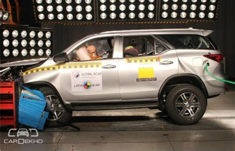 rating of cars in india new fortuner scores 5 rating in ncap crash test