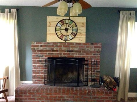 paint colors that go with brick fireplace the world s catalog of ideas