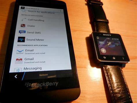 Smartwatch Blackberry sony smartwatch blackberry 10 blackberry forums at crackberry